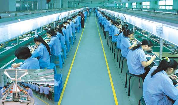 O fabrica a Foxconn din China a luat foc
