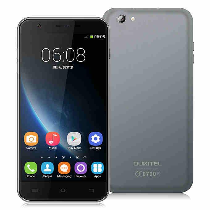 Oukitel U7 Pro este folosit ca si scandura pentru tocat