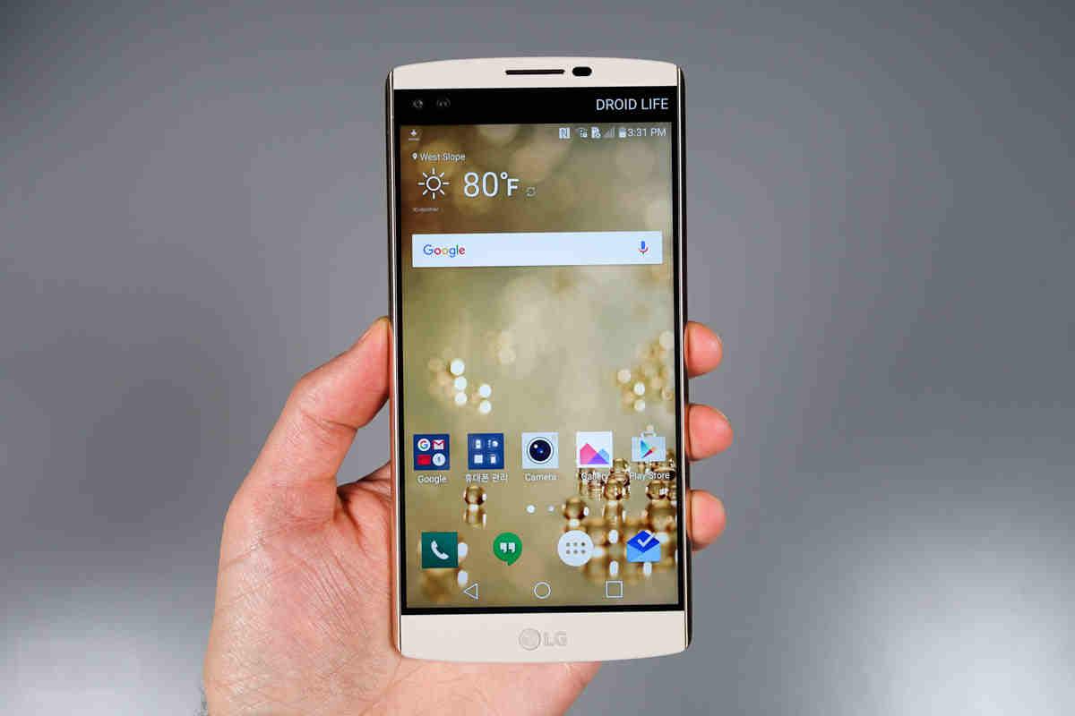 Procesorul Nuclun imbunatatit al LG va propulsa noul LG V10