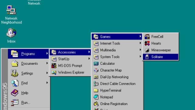 Ruleaza Windows 95 in browser-ul tau