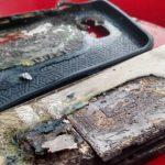 Samsung Galaxy S6 Edge+ a luat foc in timp ce era la incarcat