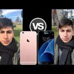 Samsung Galaxy S7 versus iPhone 6s intr-un test pentru camera
