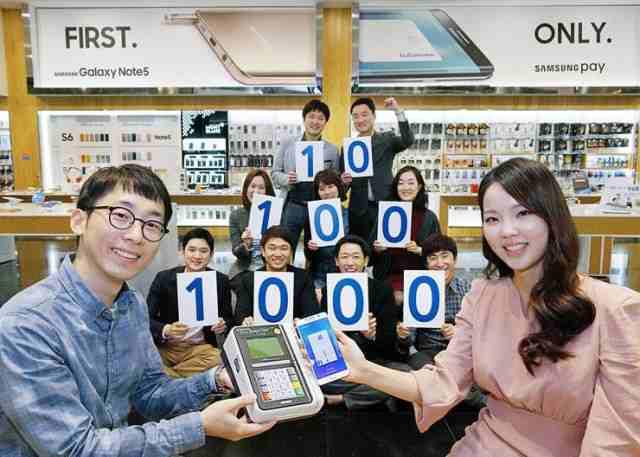Samsung Pay depaseste un milion de utilizatori in Coreea de Sud