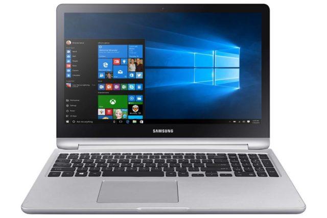 Samsung dezvaluie dispozitivul convertibil Notebook 7 Flip cu Windows 10