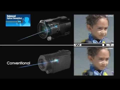 Sony arata tehnologia sa SteadyShot intr-un clip video
