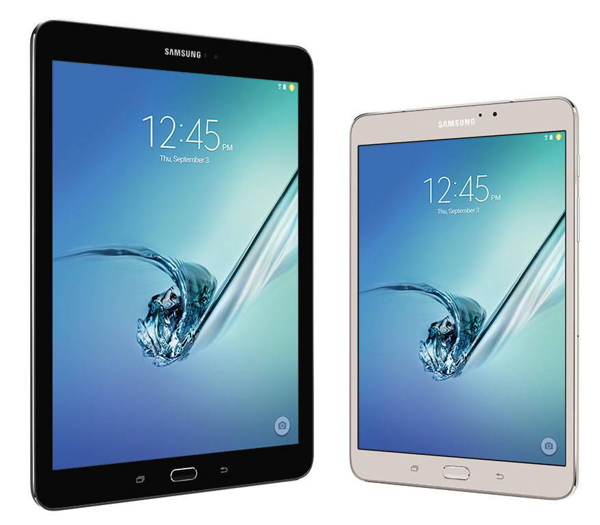 Tableta Samsung Galaxy Tab S2 a fost anuntata