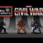Trailerul Captain America Civil War recreat ca si un joc video pe 8 biti