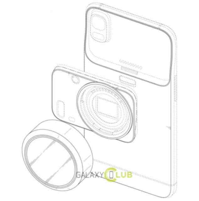 Un patent Samsung indica obiective interschimbabile pentru smartphone-uri