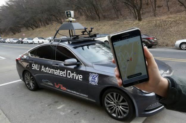 Un serviciu autonom de taxi functioneaza deja in Coreea de Sud