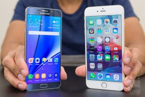 VIDEO iPhone 6s Plus vs. Galaxy Note 5 intr-un test de viteza