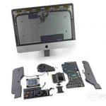 iMac Retina de 21,5 inch - destul de greu de reparat