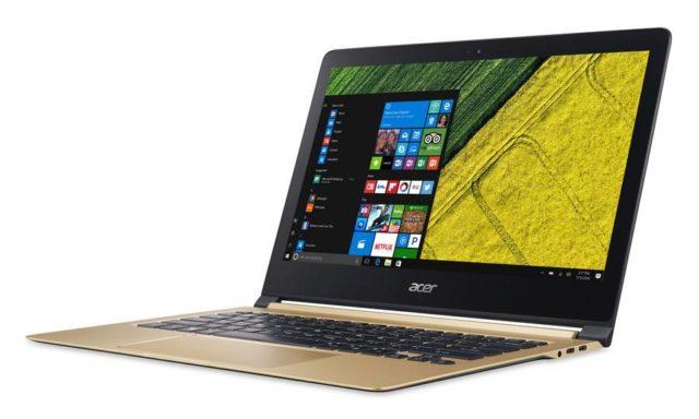 Acer Swift 7 este primul laptop mai subtire decat un centimetru