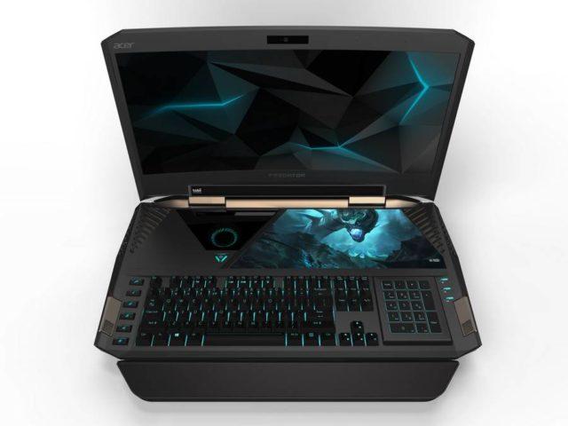 Acer anunta laptopul Predator 21 X cu ecran curbat