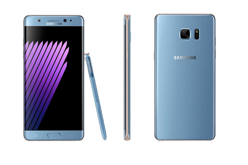 Bancile coreene au de gand se pare sa foloseasca scanner-ul de iris al lui Galaxy Note 7
