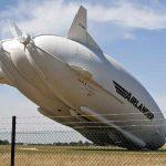 Cea mai mare aeronava din lume cade la pamant