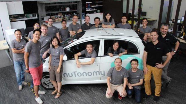 Primele taxiuri autonome din lume au fost lansate in Singapore