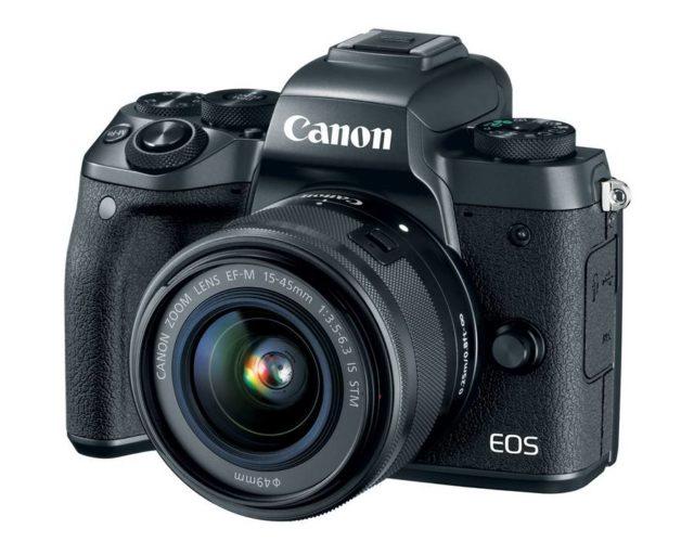 Camera EOS M5 a Canon este cea mai noua camera mirrorless a companiei
