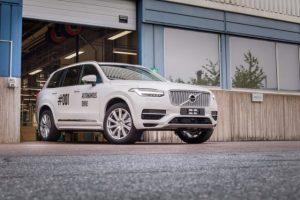 Volvo produce prima masina fara sofer pentru o incercare publica