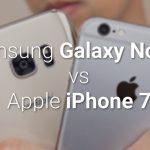 VIDEO: iPhone 7 & Galaxy Note 7 fata in fata intr-un test de viteza