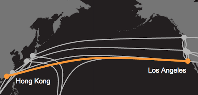 Google si Facebook isi unesc fortele pentru a construi cel mai rapid cablu trans-Pacific