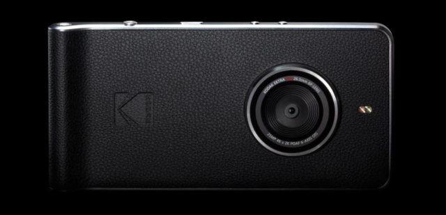 Kodak dezvaluie smartphone-ul Kodak Ektra