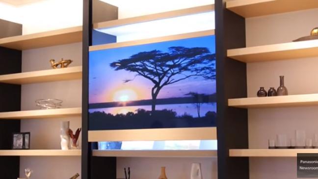 Televizoarele transparente ale Panasonic s-au intors si sunt mai transparente ca niciodata