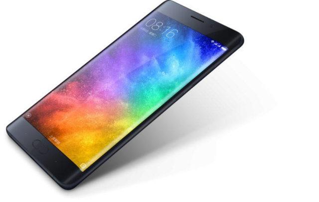 Xiaomi Mi Note 2 cu display curbat a fost lansat