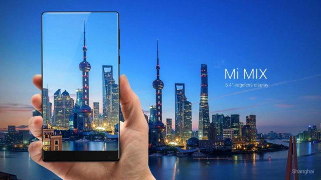 Xiaomi Mi Mix se va vinde in sfarsit si in afara Chinei