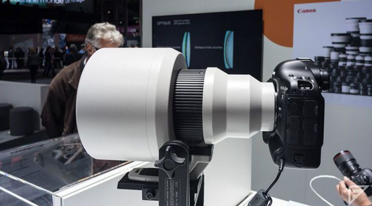 Canon dezvaluie ca lucreaza la o noua tehnologie de obiectiv