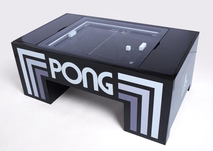 De-acum poti cumpara o masa PONG reala