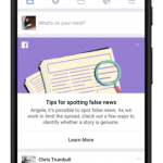Facebook creaza o noua unealta pentru a combate stirile false