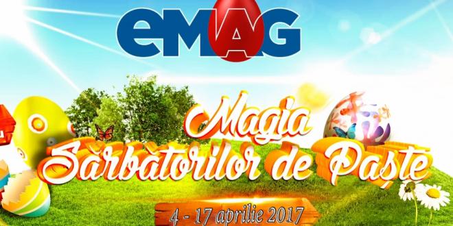 Reduceri de Paste la peste un milion de produse de la eMAG