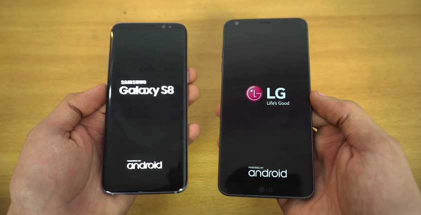 Samsung Galaxy S8 VS LG G6 intr-un test de viteza
