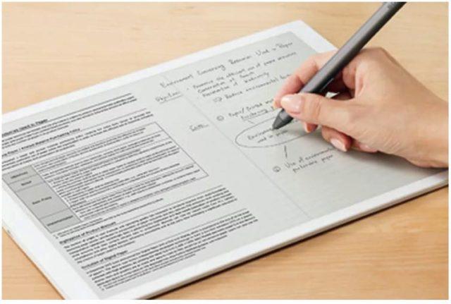 Sony dezvaluie o noua tableta e-paper gigantica