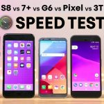 iPhone 7 Plus VS Galaxy S8, LG G6, Pixel, OnePlus 3T intr-un test de viteza
