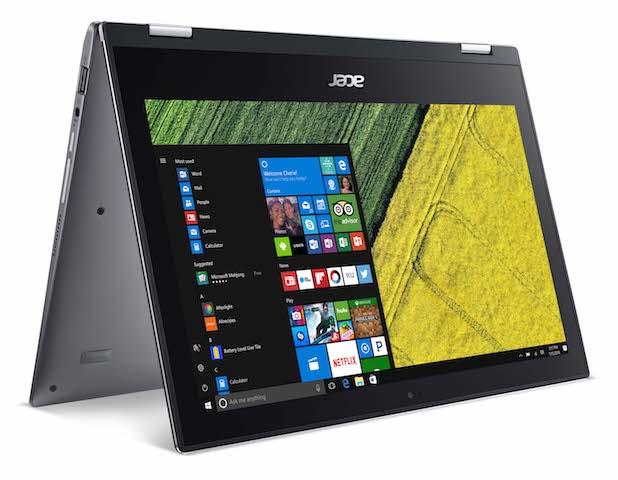 Acer lanseaza laptopul de gaming de buget Nitro 5 si convertibilul Spin 1 - Acer Spin 1