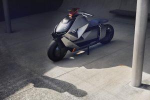 BMW dezvaluie noul concept de motocicleta cu zero emisii