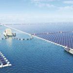 Cea mai mare centrala de energie solara plutitoare din lume furnizeaza acum electricitate in China
