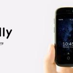 Jelly este un smartphone de 2,45 inch care ruleaza Android 7.0 Nougat