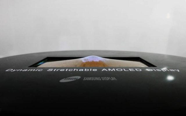 Samsung dezvaluie noi displayuri OLED care se pot intinde