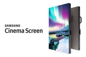 Samsung dezvaluie un ecran de cinema 4K HDR LED de 10,3 metri