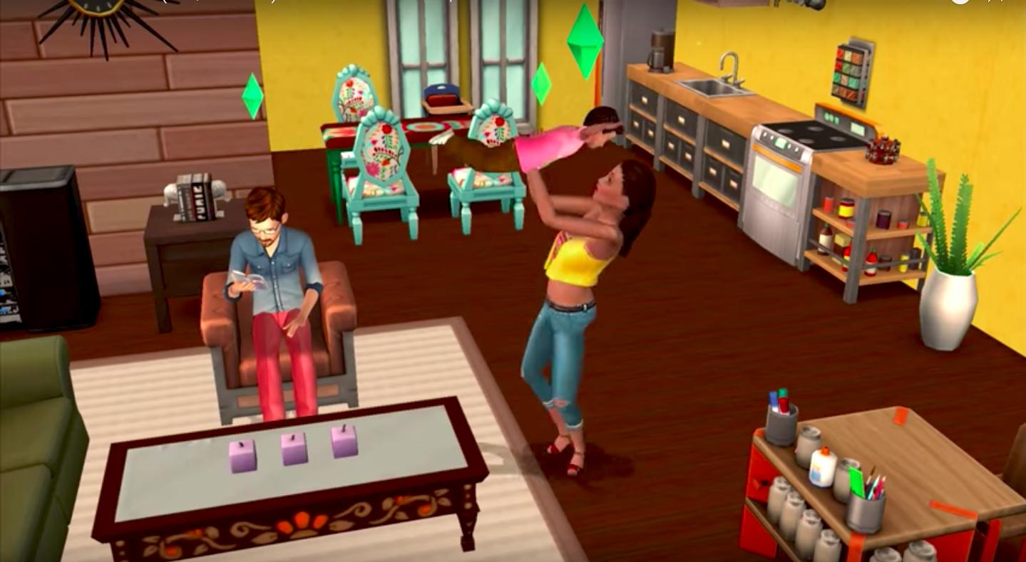 The Sims ajunge pe dispozitivele Android si iOS