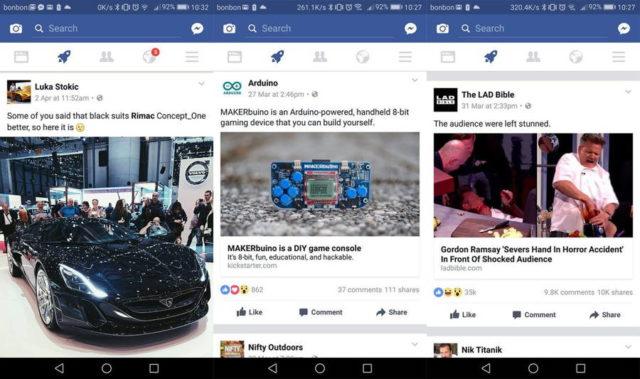 Unii utilizatori de Facebook vad o pictograma racheta in aplicatia lor. Vezi aici la ce e buna