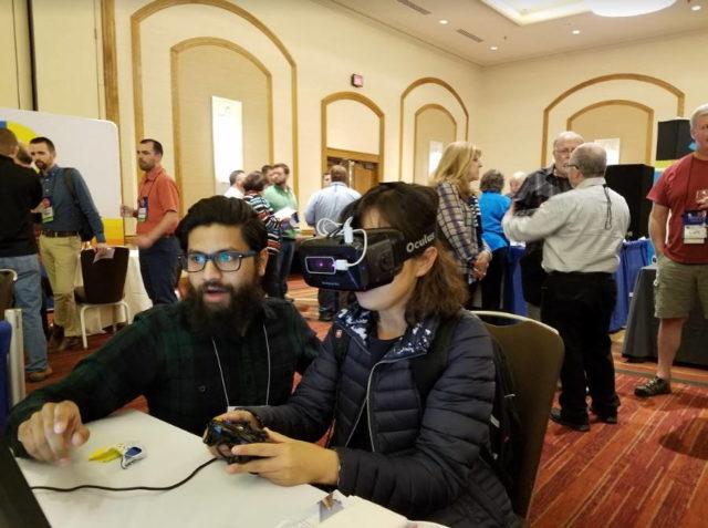Vivid Vizion creeaza unelte de realitate virtuala pentru a ajuta la inabilitatea ochiului de a focaliza