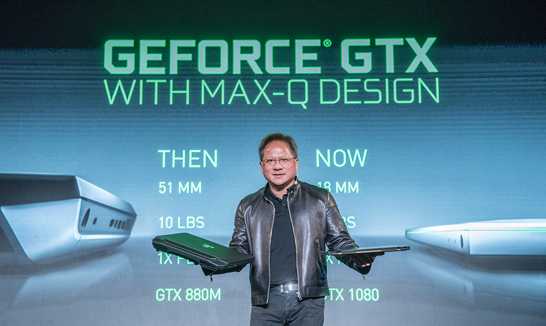 Avans tehnologic extraordinar Designul Max-Q al NVIDIA va duce la laptopuri de gaming nemaitalnit de subtiri si usoare