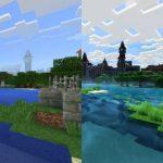 Jocul Minecraft la rezolutie 4K arata ca un joc complet diferit