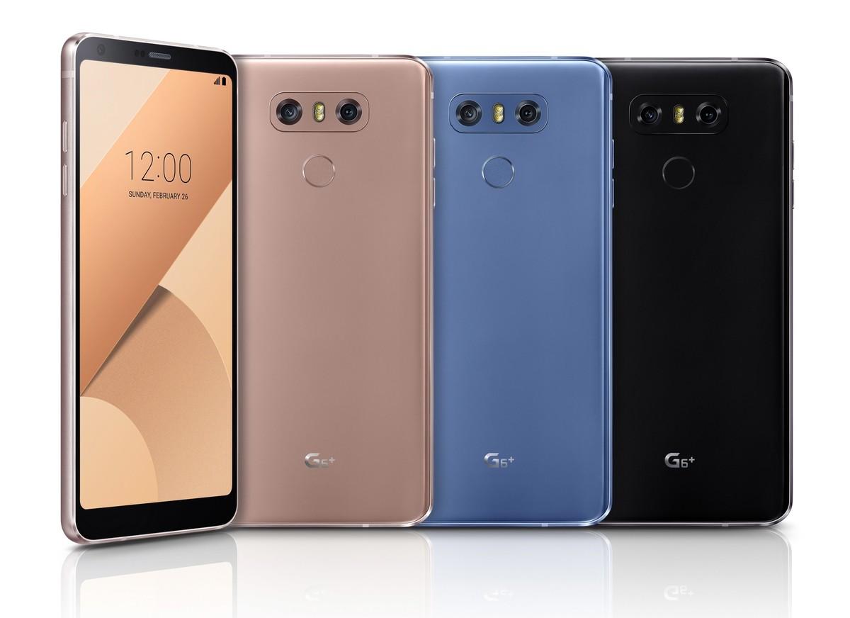 LG G6+ a fost anuntat oficial in Coreea de Sud. Vine cu 6GB de RAM si cu 128GB spatiu de stocare
