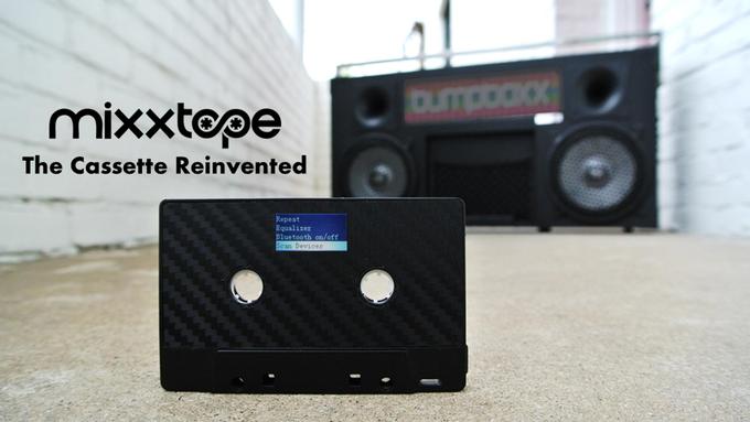 MIXXTAPE este un player MP3 care seamana cu o caseta