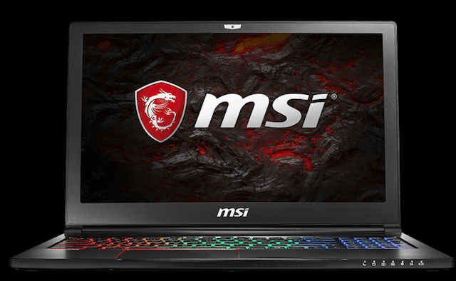 MSI GS63VR este un laptop de gaming subtire cu niste specificatii impresionante