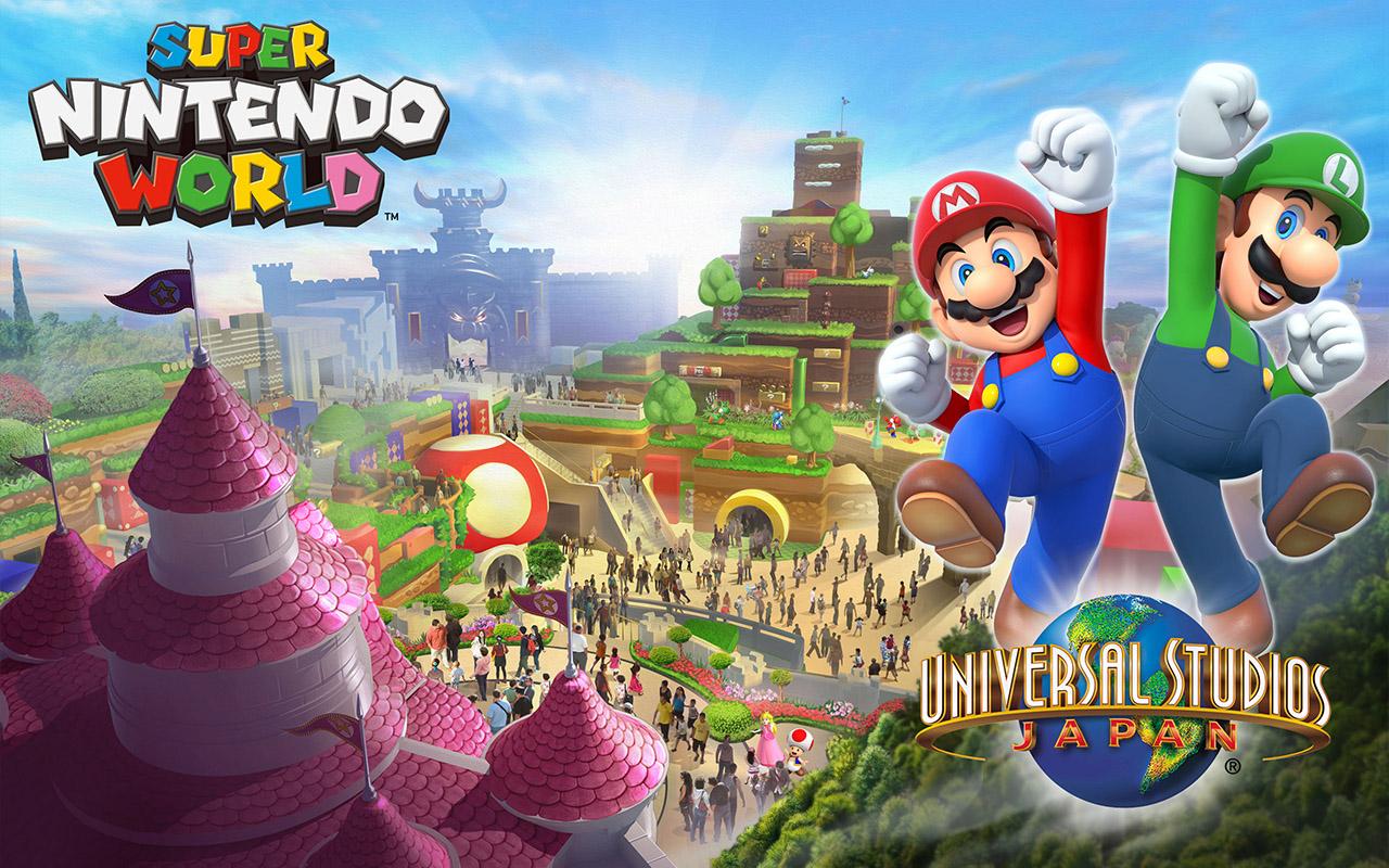 Noul parc tematic Super Nintendo World va primi o cursa Mario Kart